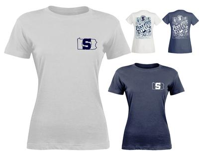 Press Box - Penn State Women's Melange T-Shirt