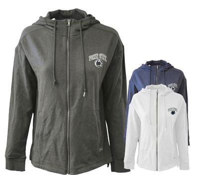UNDER ARMOUR - Penn State Under Armour Women's Sport Style Full-Zip Hood