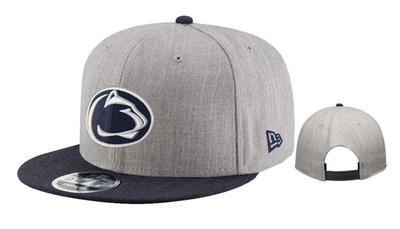 New Era Caps - Penn State Adult Heather Action Snapback