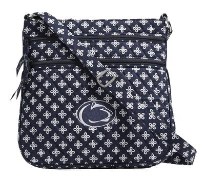 Vera Bradley - Penn State Vera Bradley Triple Zip Hipster Bag