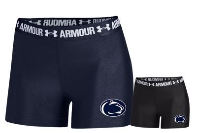 UNDER ARMOUR - Penn State Under Armour Women's Armour Shorty Shorts