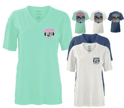 Press Box - Penn State Women's Lollipop V-Neck T-Shirt