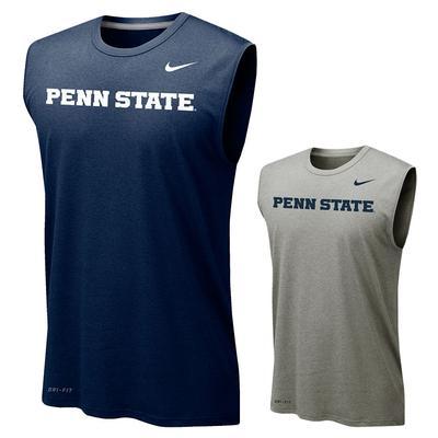 NIKE - Penn State Nike Men's Legend 2.0 Sleeveless T-Shirt