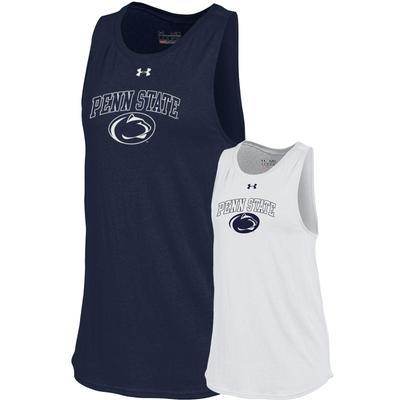 UNDER ARMOUR - Penn State Under Armour Women's Cut Out Tank