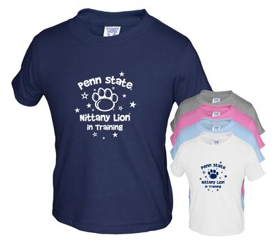 The Family Clothesline - Penn State Toddler Nittany Lion in Training T-Shirt