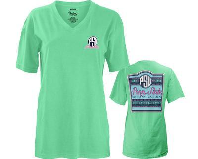 Press Box - Penn State Women's Baylee V-Neck T-Shirt