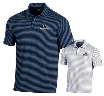 UNDER ARMOUR - Penn State Under Armour Men's Playoff Stripe Polo