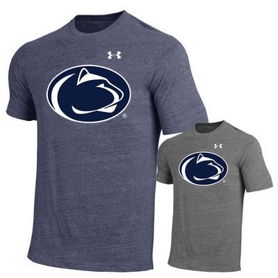 UNDER ARMOUR - Penn State Under Armour Men's Triblend Logo T-Shirt