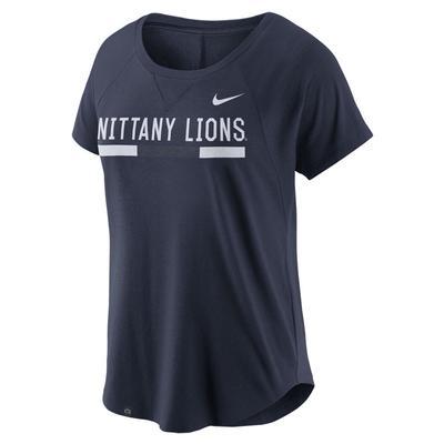 NIKE - Penn State Nike Women's Mod Fan 2.0 T-Shirt