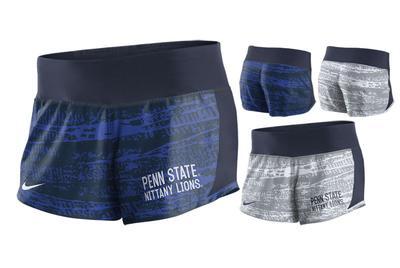 NIKE - Penn State Nike Women's NK Crew Shorts