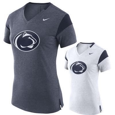 NIKE - Penn State Nike Women's Fan V-Neck T-Shirt