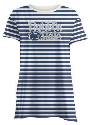Press Box - Penn State Women's Crimean Striped T-Shirt
