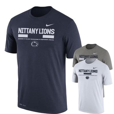NIKE - Penn State Nike Men's NK Staff Dri-Fit T-Shirt