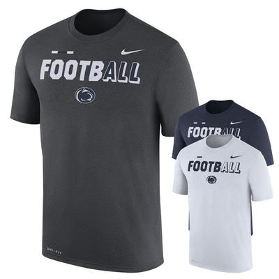 NIKE - Penn State Nike Men's NK Football Dri-Fit T-Shirt