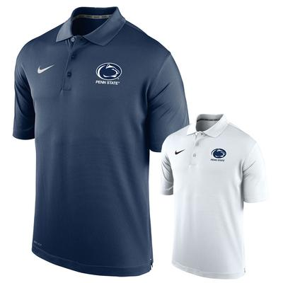 NIKE - Penn State Nike Men's Varsity Logo Block Polo