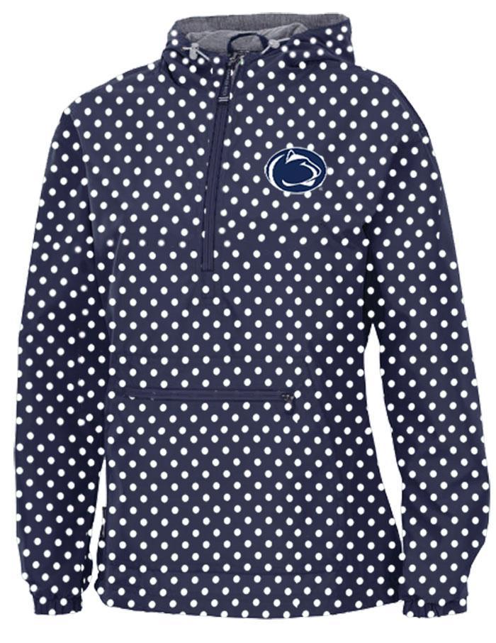 Penn State Women S Polka Dot Anorak Jacket Womens