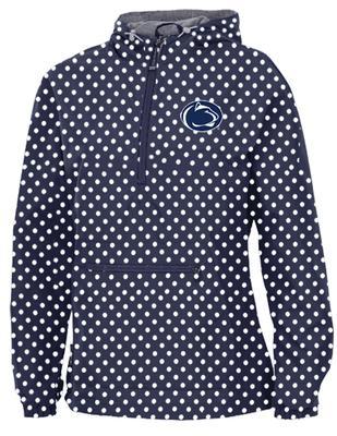 The Family Clothesline - Penn State Women's Polka Dot Anorak Jacket