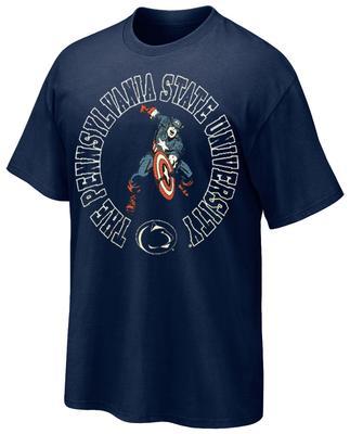 Retro Brand - Penn State Adult Captain America T-Shirt
