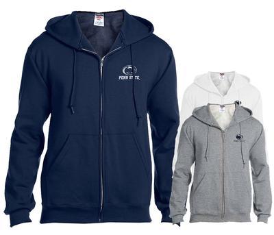The Family Clothesline - Penn State Adult Left Chest Logo Full-Zip Hood