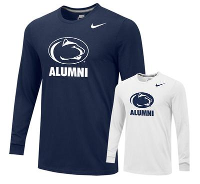 NIKE - Penn State Nike Alumni Logo Long Sleeve
