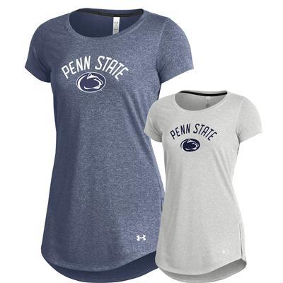 UNDER ARMOUR - Penn State Under Armour Women's Longline T-Shirt