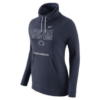 NIKE - Penn State Nike Women's Modern Funnel Hood