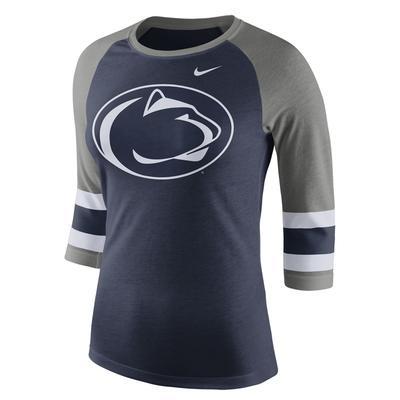 NIKE - Penn State Nike Women's Stripe Slv Long Sleeve