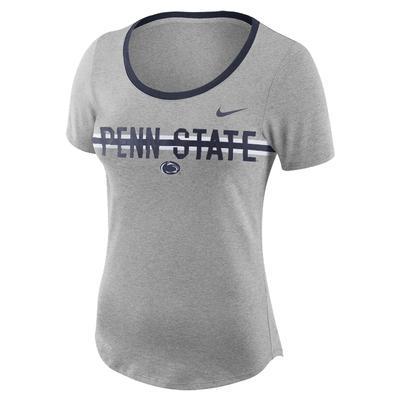 NIKE - Penn State Nike Women's Strike Slub T-Shirt