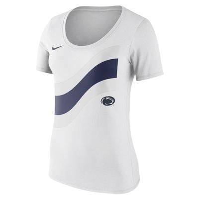 NIKE - Penn State Nike Women's Flag Scoopneck T-Shirt