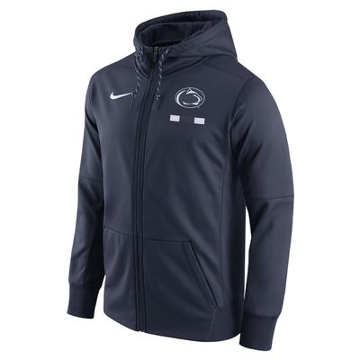 NIKE - Penn State Nike Men's NK Therma Full-Zip Hood