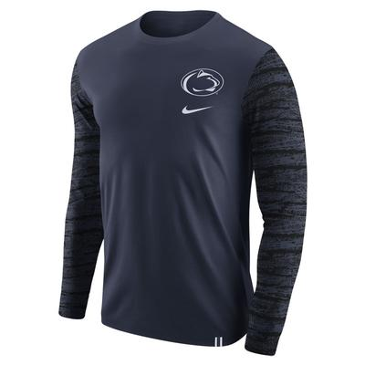 NIKE - Penn State Nike Men's ENZ Pattern Long Sleeve