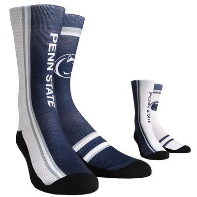 Rock Em - Penn State Adult Jersey Socks