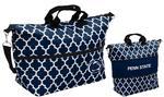 Penn State Expandable Quatrefoil Bag