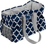 Penn State Quatrefoil Junior Caddy Bag NAVYWHITE