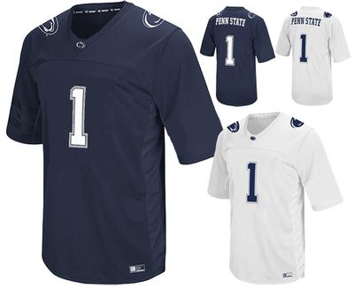 Colosseum - Penn State Adult #1 Football Jersey