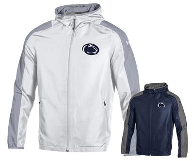 UNDER ARMOUR - Penn State Under Armour Men's Lightweight Hooded Jacket