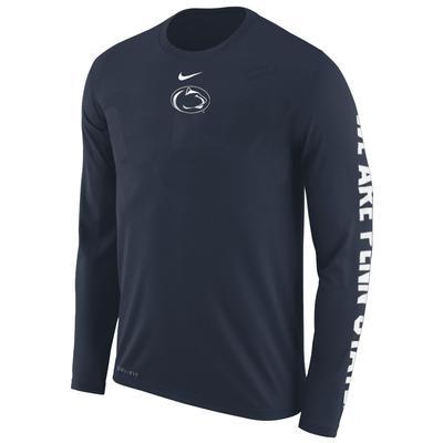 NIKE - Penn State Nike Men's Fresh Hook Long Sleeve