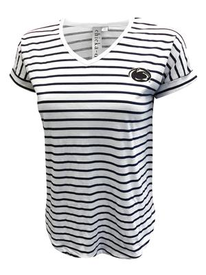 Chicka-D - Penn State Women's Rolled Sleeve T-Shirt