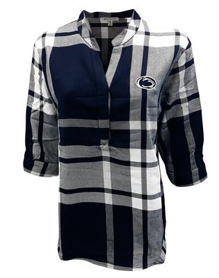 University Girls - Penn State Women's Plaid Tunic