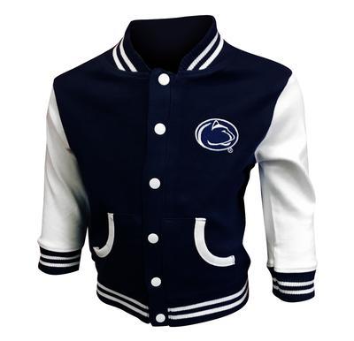 Creative Knitwear - Penn State Toddler Varsity Jacket
