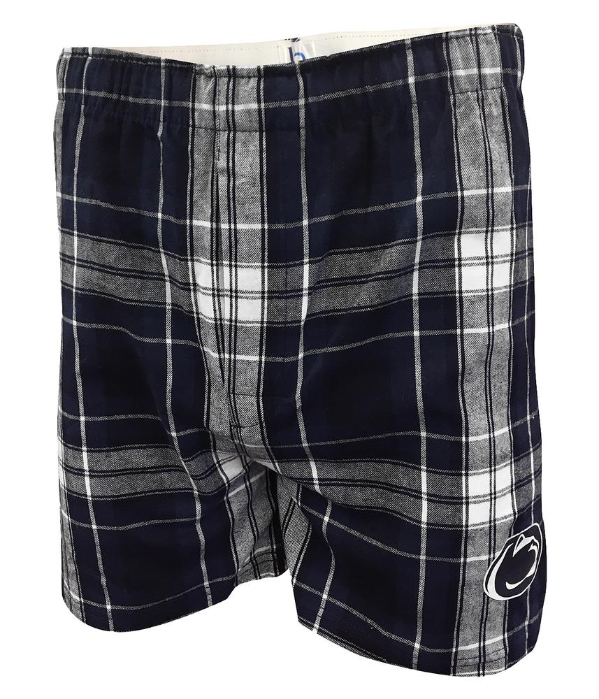 Penn State Men 39 S Classic Flannel Plaid Boxers Mens