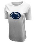 Penn State Under Armour Women's Dip Dye T-Shirt WHITE
