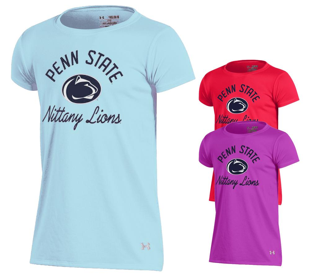 Penn State Under Armour Youth Tech T Shirt Tshirts