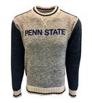 Penn State Men's New Crew Sweater NAVYGREY