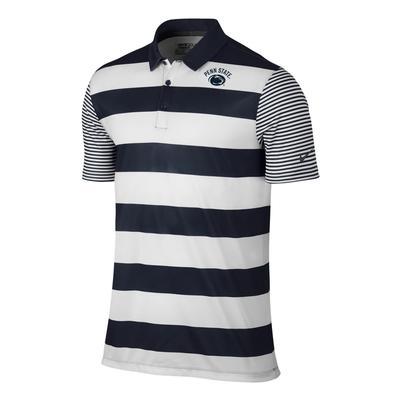 NIKE - Penn State Nike Men's Bold Stripe Polo
