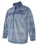 Penn State Women's Sherpa Quarter Zip Pullover VNAVY