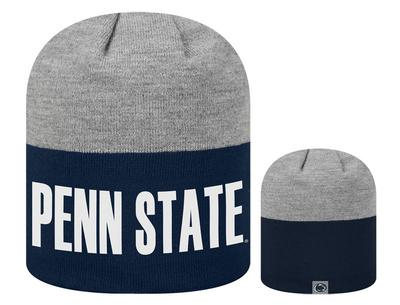 Top of The World - Penn State Adult Knit Rutro Hat