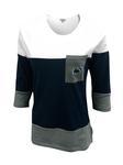 Penn State Women's Striped 3/4 Long Sleeve