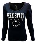 Penn State Women's Particular Scoop Long Sleeve NAVY