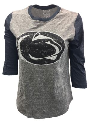 Blue 84 - Penn State Women's Jr Mascot 3/4 Long Sleeve
